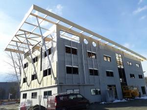 Structure Bois - Bâtiment de Bureau à Francin (73)