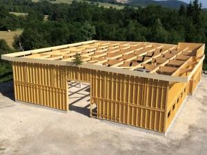 B timent bois structures bois solutions for Batiment structure bois
