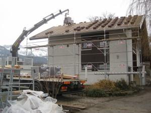Rénovation toiture et Abri à Amancy