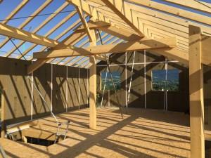 Maison ossature bois Eteaux