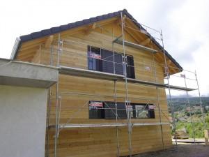 Ossature bois - La Roche