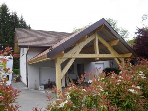 Extension et garage Cruseilles