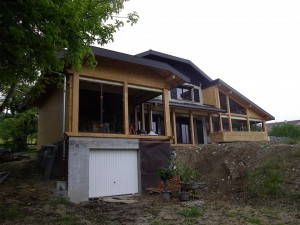 Agrandissement maison Thorens
