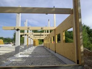 Structure bois atelier SBS