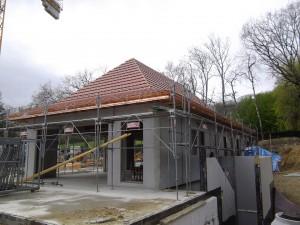 Charpente garage Echenevex