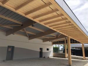 Structure Préau Ecole de Cruseilles