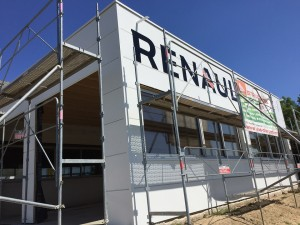 Structures Bois Extension Garage renault