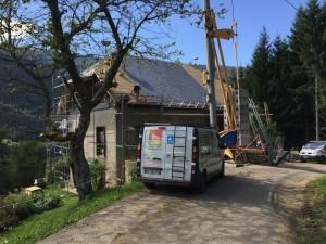 Renovation toiture Aillon Le Vieux