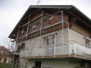 Rénovation bardage