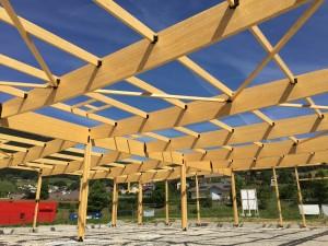 Structure Bois - Bâtiment industriel