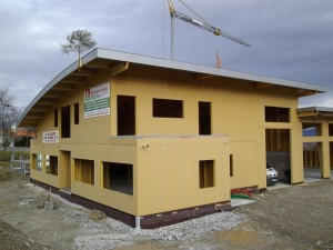 Structure bois école de taxis